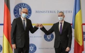 Ministrul Justitiei a discutat cu ambasadorul Germaniei in Romania despre desfiintarea SIIJ