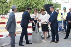 Ministrul Justitiei a pus piatra de temelie a Palatului de Justitie din Craiova