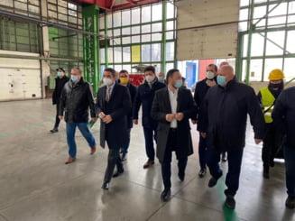 Ministrul Mediului, Apelor si Padurilor, Mircea Fechet in vizita la Arad