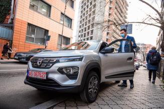"""Ministrul Mediului a testat noul model de la Dacia 100% electric: """"Am ramas placut impresionat"""""""