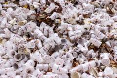 Ministrul Mediului spune ca ambalajele de plastic, sticla si aluminiu ar urma sa fie taxate cu 50 de bani. Unele fac exceptie