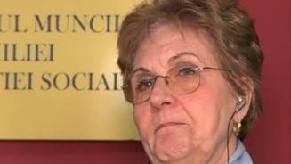 Ministrul Muncii, Mariana Campeanu, a plans in direct