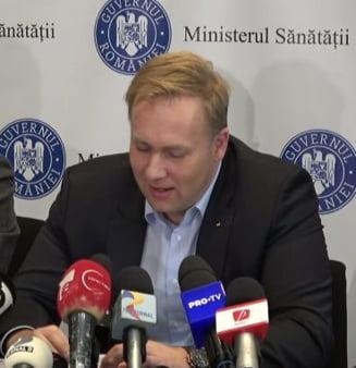 Ministrul Sanatatii: Avem prea multi pacienti in prea putine spitale. Oamenii mor inutil