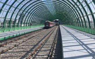 Ministrul Transporturilor sustine ca linia de cale ferata Gara de Nord - Aeroportul Otopeni va fi data in folosinta din 12 decembrie