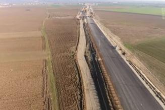"""Ministrul Transporturilor sustine ca tronsonul 2 al drumului expres Craiova-Pitesti va fi gata anul acesta: """"Stadiul fizic al lucrarilor este de 75%"""""""