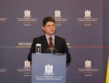 Ministrul de Externe al Germaniei, impiedicat sa vina in Romania in campania electorala