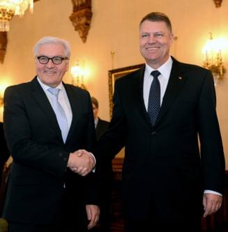 Ministrul german de Externe, la Cotroceni: Va fi numit cetatean de onoare al Sibiului