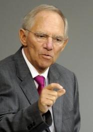 Ministrul german de Finante, in spital