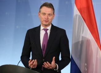Ministrul olandez de Externe demisioneaza dupa ce a mintit despre o intalnire cu Putin