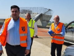 Ministrul transporturilor ameninta, din NOU, cu rezilierea contractului pe autostrada A10 Sebes-Turda, lotul 2: Nu am de gand ca reprezentat al guvernului sa stau in genunchi in fata constructorilor neseriosi