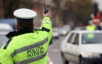 Minor din comuna Barbulesti, prins la volan de politisti
