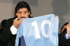 Minut de reculegere la meciurile din Liga Campionilor si Liga Europa pentru Diego Maradona