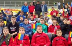 Miodrag Belodedici si alti 500 de copii caraseni au trait la cote maxime fiecare moment al meciului Romania-Norvegia