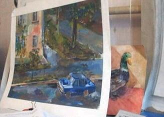 Miracolele vietii: o rusoaica traieste cu jumatate de creier si picteaza uimitor