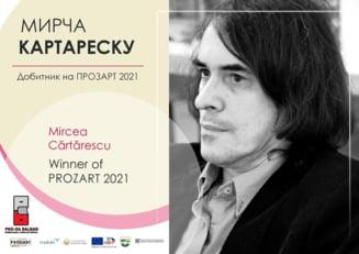 Mircea Cartarescu a castigat premiul PROZART 2021