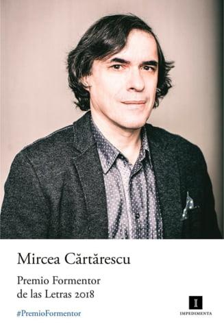 Mircea Cartarescu a fost distins cu un premiu international pentru literatura in valoare de 50.000 de euro