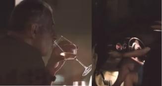 Mircea Geoană, filmat conducând mașina după ce a băut mai multe pahare de vin. Imaginile au stârnit un uriaș scandal VIDEO