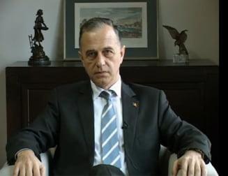 Mircea Geoana, de acord cu discursul lui Traian Basescu din Parlament