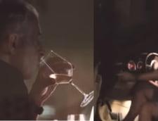 Mircea Geoana, filmat conducand masina dupa ce a baut mai multe pahare de vin. Imaginile au starnit un urias scandal VIDEO