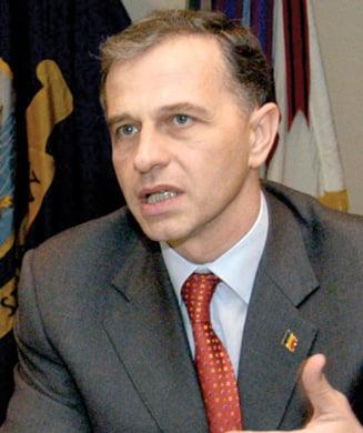 Mircea Geoana discuta cu delegatia FMI