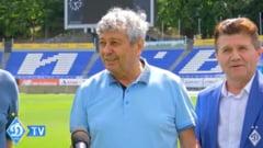 Mircea Lucescu a fost prezentat la Dinamo Kiev