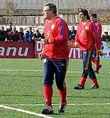 "Mircea Sandu i-a impresionat pe ""tricolori"""