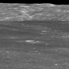 Misiunea chineza a descoperit o substanta ciudata pe fata intunecata a Lunii