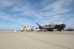 Misteriosul avion spatial al Air Force a aterizat pe Pamant (Galerie foto)