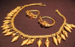 Misterul celui mai pretios colier dacic din aur, traficat pe piata neagra. Cum a fost recuperat tezaurul antic din Capalna