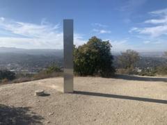 Misterul continua. Un nou monolit metalic a aparut in SUA, dupa disparitia celui din Romania