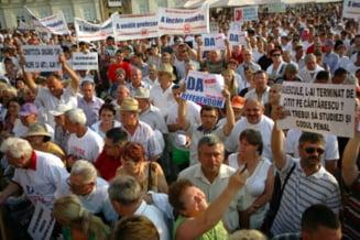 Miting USL anti Basescu, la Brasov: Peste 5.000 de participanti