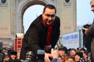 Miting anti-Basescu la Timisoara: Antonescu participa, Ponta ramane acasa