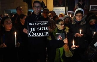 Miting de solidaritate la Paris, dupa atacul de la Charlie Hebdo - Mari lideri ai lumii participa la manifestatii
