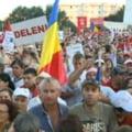 Miting impotriva lui Basescu, in Bucuresti: Un militar protestatar a lesinat