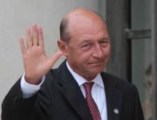 Miting la Cotroceni, in ultima zi de presedintie a lui Traian Basescu