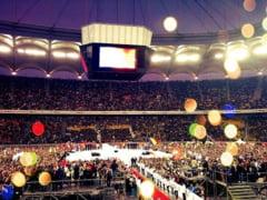Miting urias USL: 80.000 de oameni adusi pe Arena Nationala (Galerie foto)