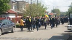"""Mitingul PNL la Alexandria s-a incheiat cu un mars pe strazile orasului/ Rares Bogdan: """"De aici, de la Teleorman, Romania se va trezi! """""""