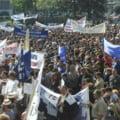 Mitinguri, pichete si greva generala pe 15 iunie