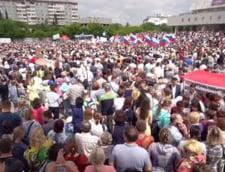 Mitinguri antiguvernamentale in Rusia in semn de protest fata de cresterea varstei de pensionare (Video)
