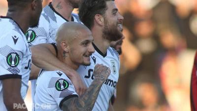 Mitriţă a înscris pentru PAOK Salonic în Conference League