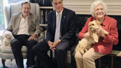Mitt Romney, sprijinit de George W. Bush pentru investitura republicana