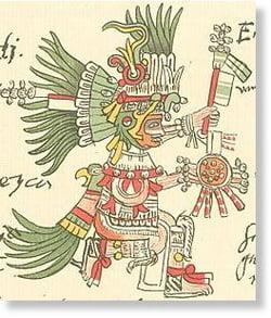 Miturile aztecilor sculptate in piatra, descoperite in Mexic
