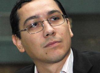 Miza lui Victor Ponta