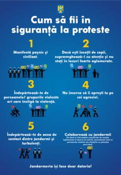 Mobilizare iesita din comun a jandarmilor pentru proteste: Vor fi folosite toate resursele. Ne facem doar datoria!