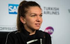 Modificari importante in clasamentul WTA: Simona Halep, in coborare