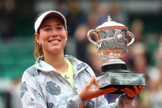 Modificari semnificative in top 10 WTA, dupa Roland Garros. Pe ce loc urca Garbine Muguruza