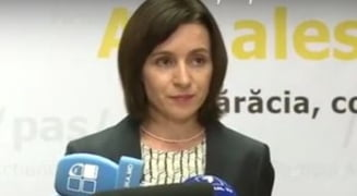 Moldova, pe drumul european sau spre Rusia? Maia Sandu face apel la calm, Dodon se vede castigator