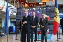 Moldovenii, fara vize in UE - Reactii de la Bucuresti si Chisinau