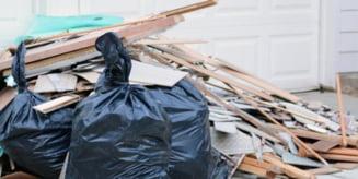 Moloz, resturi de materiale, gunoi, mobila veche - Ce sa faci cu aceste deseuri?
