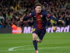 Moment de sarbatoare pentru Lionel Messi